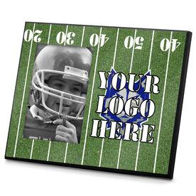 Football Photo Frame Logo Football Field