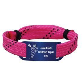 Personalized Lacrosse Shooting String Bracelet Girl Player Adjustable Shooter Bracelet
