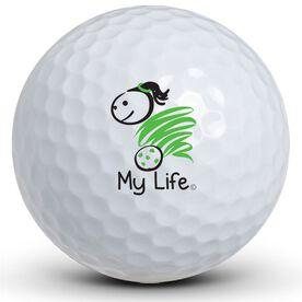 My Life - Soccer (Female) Golf Balls