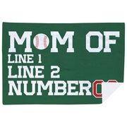 Baseball Premium Blanket - Personalized Baseball Mom