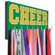 Cheerleading Hooked on Medals Hanger - Word