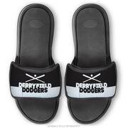 Baseball Repwell® Sandal Straps - Team Name Colorblock