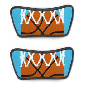 Basketball Repwell® Sandal Straps - Ball in Net