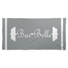 Cross Training Beach Towel Bar Belle