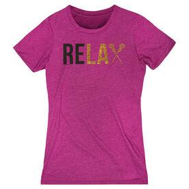 Girls Lacrosse Women's Everyday Tee - Relax