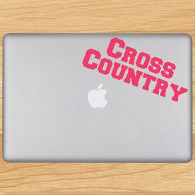 Cross Country Removable GoneForaRUNGraphix Laptop Decal