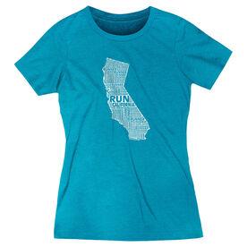 Women's Everyday Runners Tee California State Runner