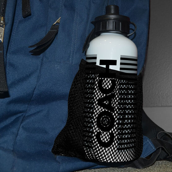 Wrestling 20 oz. Stainless Steel Water Bottle - Coach With Roster