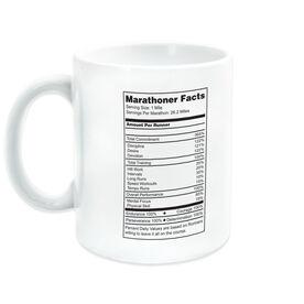 Running Coffee Mug - Marathoner Facts
