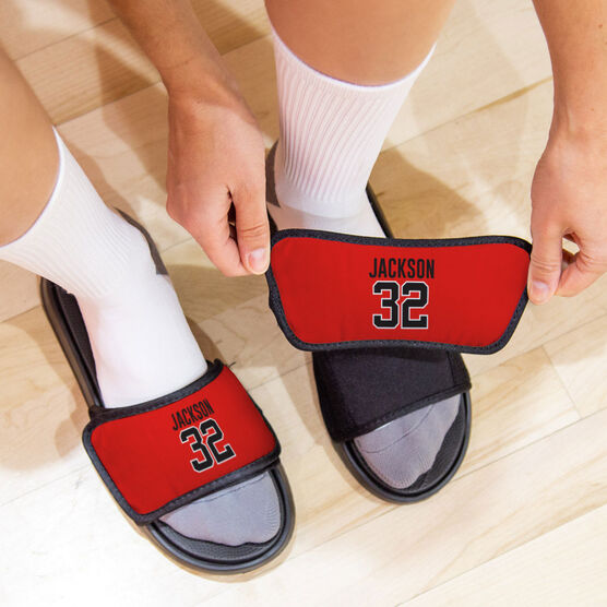 General Sports Repwell® Slide Sandals - Name and Number