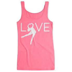 Figure Skating Women's Athletic Tank Top - Love