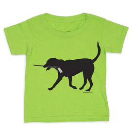 Hockey Toddler Short Sleeve Tee - Howe the Hockey Dog