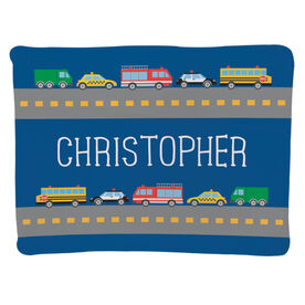 Personalized Baby Blanket - Cars