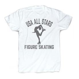 Vintage Figure Skating T-Shirt - Personalized Team