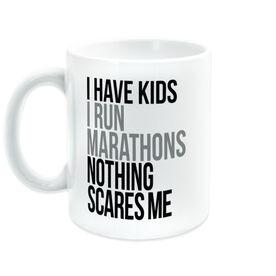 Running Coffee Mug - Nothing Scares Me (Parent)