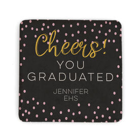 Personalized Stone Coaster - Cheers You Graduated