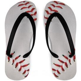 Baseball Flip Flops Two Seam