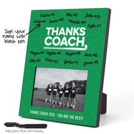 Field Hockey Photo Frame - Coach (Autograph)