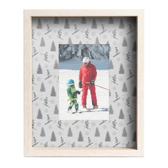 Skiing Premier Frame - Mountain Scene