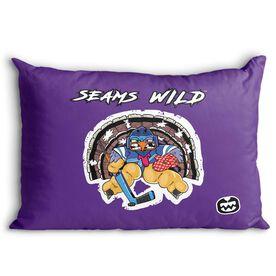 Seams Wild Hockey Pillowcase - Gobblechuck