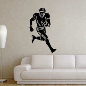 Football Player Removable ChalkTalkGraphix Wall Decal