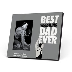 Wrestling Photo Frame - Best Dad Ever