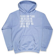 Lacrosse Hooded Sweatshirt - All Weekend Lacrosse