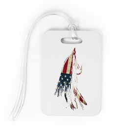 Fly Fishing Bag/Luggage Tag - American Lefty