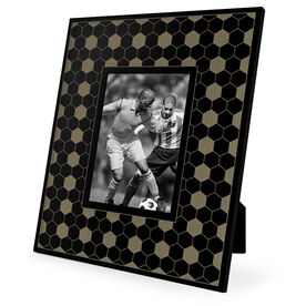 Soccer Engraved Picture Frame - Border