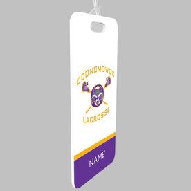 Bag Tag - Oconomowoc Lacrosse Logo with Name