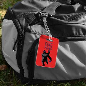 Ping Pong Bag/Luggage Tag - King Pong