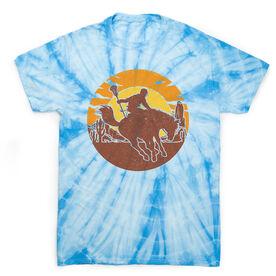 Guys Lacrosse Short Sleeve T-Shirt - Giddy Up Tie Dye