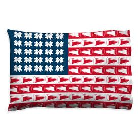 Cheerleading Pillowcase - Cheer For America