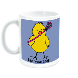Girls Lacrosse Coffee Mug Lax Chick