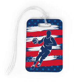 Basketball Bag/Luggage Tag - Basketball Patriot