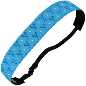 Girls Lacrosse Juliband No-Slip Headband - Girls Lacrosse Pattern