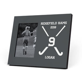 Field Hockey Photo Frame - Crossed Field Hockey Sticks