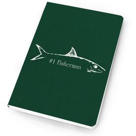 Fly Fishing Notebook Bonefish Silhouette