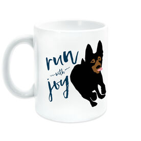 Running Coffee Mug - Run With Joy