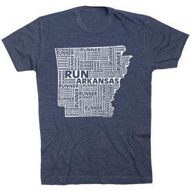 Running Short Sleeve T-Shirt - Arkansas State Runner