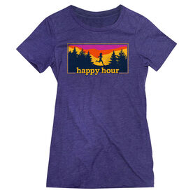 Women's Everyday Runners Tee - Happy Hour