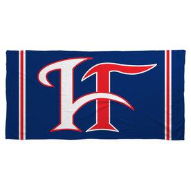 Beach Towel - Hamilton Fairfield Logo (Blue)