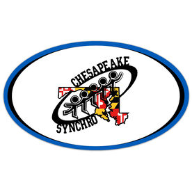 Car Magnet - Chesapeake Synchronized Skating Logo