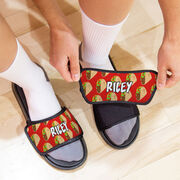 Personalized Repwell® Slide Sandals - Tacos