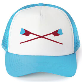 Crew Trucker Hat - Custom Oar Colors V Stripe