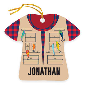 Personalized Ornament - Fisherman Outfit