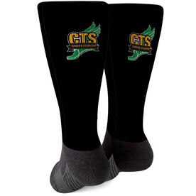Cross Country Printed Mid-Calf Socks - Your Logo