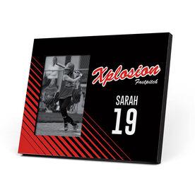 Softball Photo Frame - Xplosion Logo (Black)