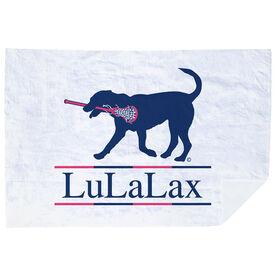 Girls Lacrosse Premium Blanket - LuLaLax Logo
