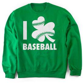 Baseball Crew Neck Sweatshirt - I Shamrock Baseball